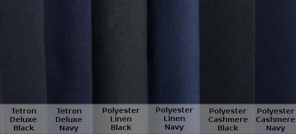 Hakama Fabric Comparison