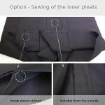Hakama Customization : Stitched Inside Pleats