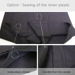 Hakama Customization : Stitched Inside Pleats
