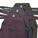 Hakama Réglage de la taille - Large / étroit Cut