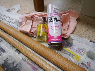 Varnish and maintenance oil for Bokken and Jo